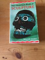 VINTAGE COLLECTIBLE FIRST EDITION THE  OBSERVER'S BOOK OF SCULPTURE 1966