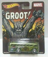 2014 Hot Wheels Marvel Groot! Surfin' School Bus Real Riders!