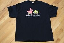 Original 2004 SpongeBob & Patrick Two Fools Are Better Than One Size XL T-Shirt