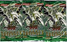 HIDDEN ARSENAL 3   YU-GI-OH FACTORY SEALED BOOSTER PACK   (4 PACK LOT)