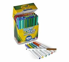 NEW Crayola Super Tips Washable Markers 100 Count
