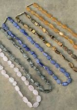 eBay Lot Of 5 Assorted Multi Gemstone Beaded Faceted Necklace 18''