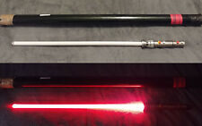 Star Wars SW-213 Master Replicas DARTH MAUL I Custom led lightsaber NO STAND-BOX