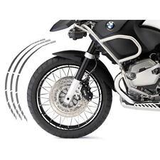 BMW R 1200 GS KIT ADESIVI SPECIFICI COLORE ARGENTO CERCHIO PROFILO RUOTA
