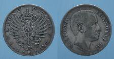REGNO D'ITALIA VITT. EMAN. III  1 LIRA 1905 AQUILA SABAUDA MB RR!!