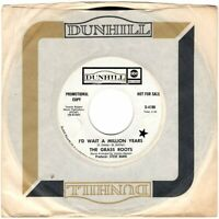 "THE GRASS ROOTS ~ I'd Wait A Million Years ~1969 USA PROMO 2-trk 7"" vinyl single"