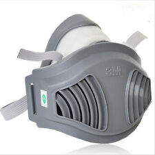 3M 1211 Gas mask Half Face Spray Painting Protection Respirator Anti-Dust PM2.5