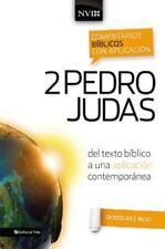 Comentario B?blico con Aplicaci?n NVI 2 Pedro y Judas : Del Texto B?blico a u...