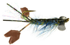 Fly Fishing Flies (Bass, Muskie, Pike, Trout) Fighting Craw Olive x 3
