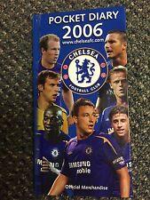Chelsea Football Club 2006 Pocket Diary soccer CFC