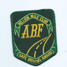 ABF Million MIle Club Safe Driving Award Patch 4 X3-1/8 #2090