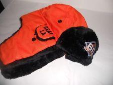 SF Giants 2018 60th Anniversary Two Flaps Down Orange Cap 4/27 SGA Hat NEW