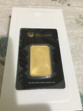 Perth Mint Gold 1oz Bullion Bar (Minted)
