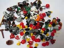 Lego Job Lot Over  100 Minifigure  Accessory Parts Body Head Hair & More Set 54