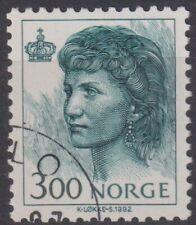 NORWAY  1993 -1994 Queen Sonja 3,00Kr   Stamp CTO   (p244).