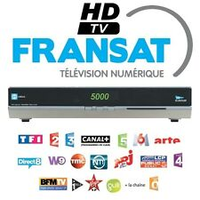 RECEIVER SATELLITE FRANSAT HD AND USB , WITHOUT CARD