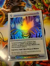 Chaotic Ultra Rare Crown Of Aa'une W/Chaotic Sleeve Ccg Tcg