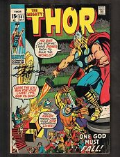"Thor #181 ~ Signed by Neal Adams / ""One God Must Fall"" (5.5) WH"