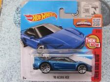 Hot Wheels 2016 #103/250 1990 ACURA NSX blue Then and Now Case C