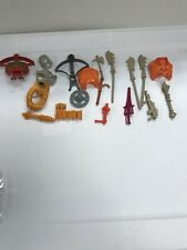 Vintage 1980's He-Man Masters of the Universe MOTU Parts & Weapons Lot