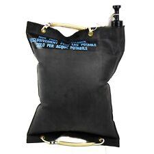 Original Swiss Switzerland army rubber Water bag with valve 20 liter 5 gal