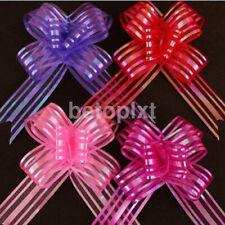 Nœuds, rubans et ficelles pour emballage et paquet cadeau