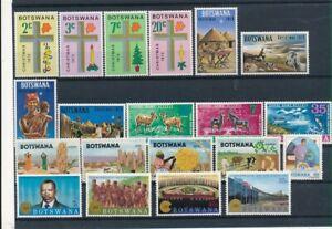 D193690 Botswana Nice selection of MNH stamps