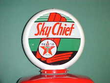 TEXACO SKY CHIEF GAS PUMP GLOBE