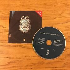 Sting The Police Can't Stand Losing You Live Cardboard 2 Tracks GER Cd Single