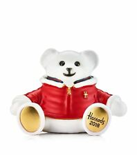 "Estee Lauder Harrods 2018 Christmas Bear ""Oliver"" MIBB"