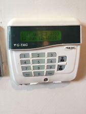 Risco GardTec G-Tag Alarm Keypad, 4 wire, Screen Is Fine