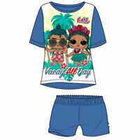 Girls LOL Doll Shortie Short Pyjamas Age 3-4 5-6 7-8 9-10 years NEW