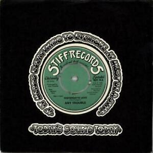 Any Trouble, Yesterday's Love, NEW/MINT Original UK 7 inch vinyl single