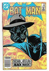 Batman #386 VF+ Key Issue Origin & 1st Appearance Black Mask DC Comics 1985