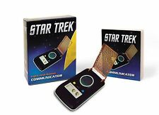 RUNNING PRESS Star Trek TOS Light & Sound Communicator Kit Classic KIRK NEW