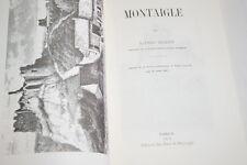 MONTAIGLE ALFRED BEQUET ILLUSTRE REPRINT 1973 BELGIQUE