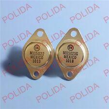 1pair or 2PCS Transistor MOTOROLA/ON TO-3 MJ15022/MJ15023