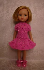Dress, Shoes for doll Paola Reina Little Darling 32-34 cm handmade