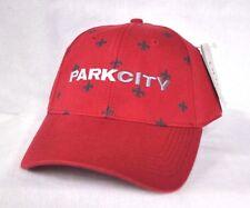 *PARK CITY UTAH* Ski Snowboard Structured Ball cap hat  OURAY sample