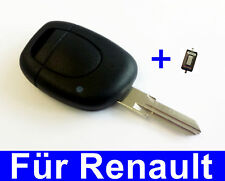 Auto Schlüssel Gehäuse für RENAULT Megane Scenic Clio Kangoo Laguna + 1x Taster