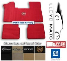 Choose Color /& Official Logo 1980-2000 Cadillac Cars Custom Carpet Floor Mats