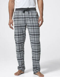 MENS size S grey check flannelette  flannel pants Target pjs no top Small NEW