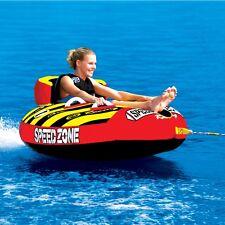 "SportsStuff  Speedzone 1 Rider 54"" Inflatable Water Tube Boat Towable 53-1920"