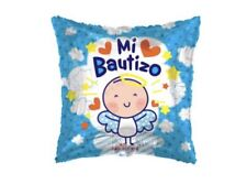 "Set Of 10 Mi Bautizo 18"" Balloons Birthday Party Decorations Baptism"