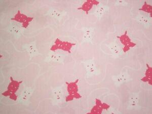 "Vicky's Stash PRE-WASHED 53"" Length Rachel Ashwell Shabby Chic Pink Cot Poplin"