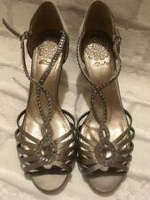 Clarks Sandals Standard (D) Block Heels for Women