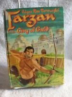 TARZAN and the CITY of GOLD by EDGAR RICE BURROUGHS 1954 Book