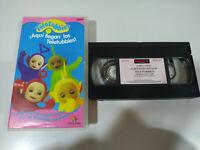Teletubbies Aqui Llegan los Teletubbies - VHS Cinta Tape Español