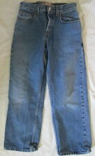 Levi's 569 Loose Straight cropped jeans JR 11 x 25.5 *FREE SHIPPING* Nice