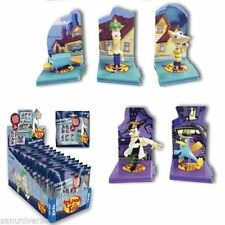 Sealed - Phineas and Ferb Diorama Figures x3 random pick packs